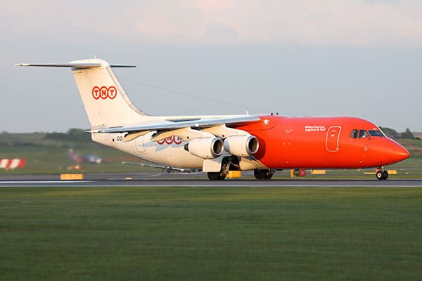 BAE 146 for Cargo Charter