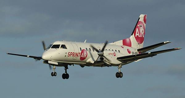 Saab 340 cargo charter