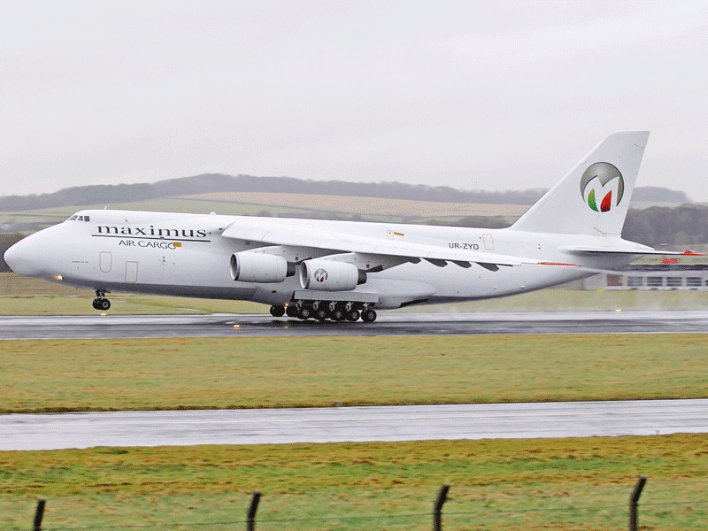 AN124F for Cargo Charter
