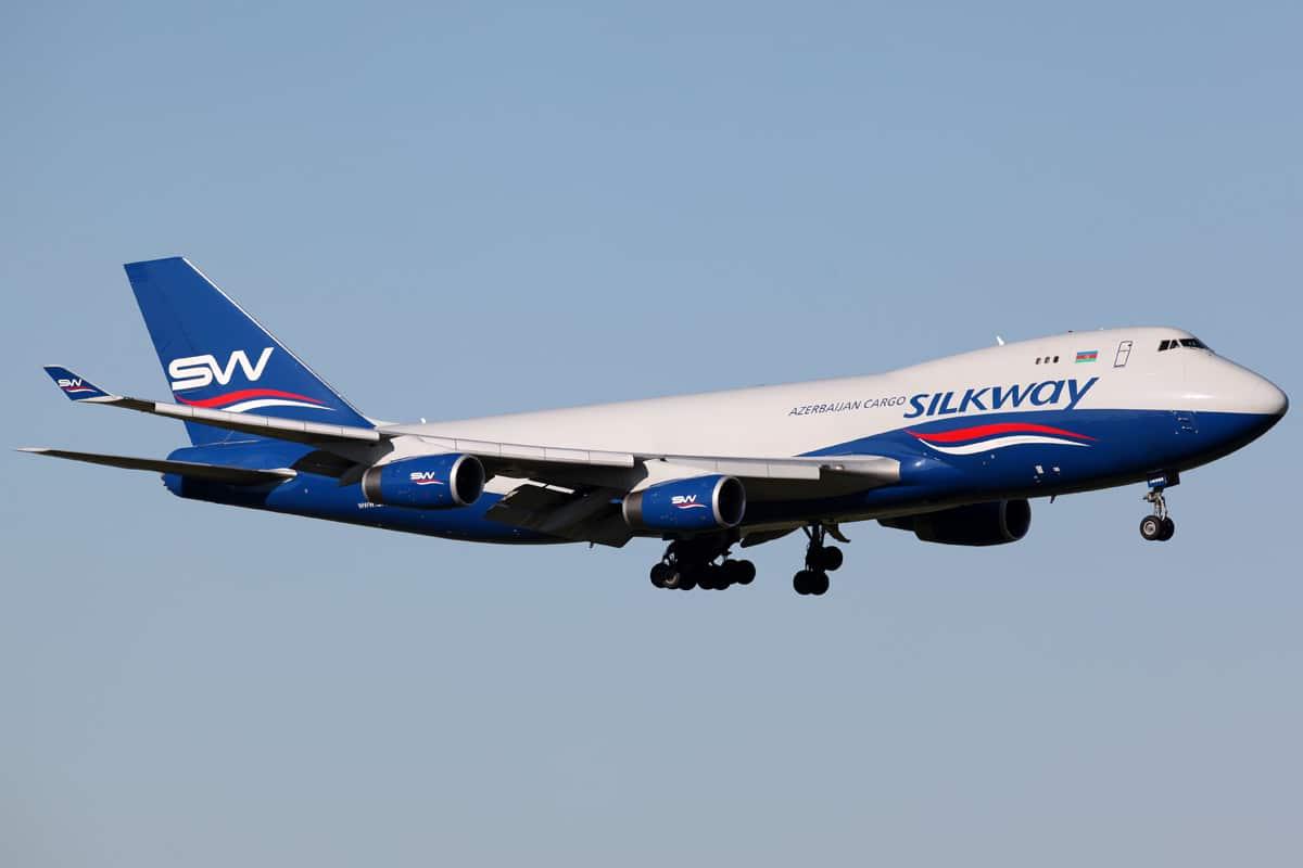 Boeing 747-200 Cargo Charter