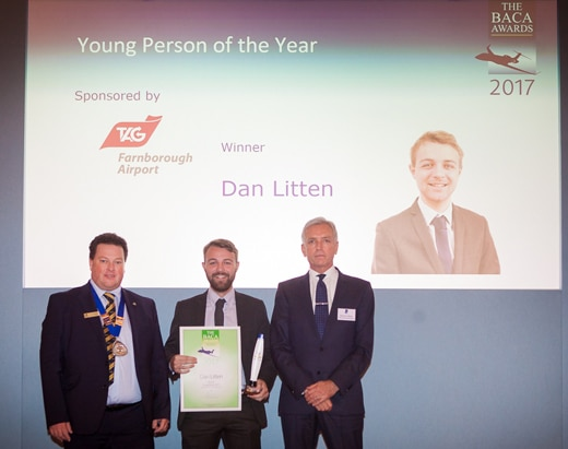 HUNT & PALMER's Dan Litten Wins Award