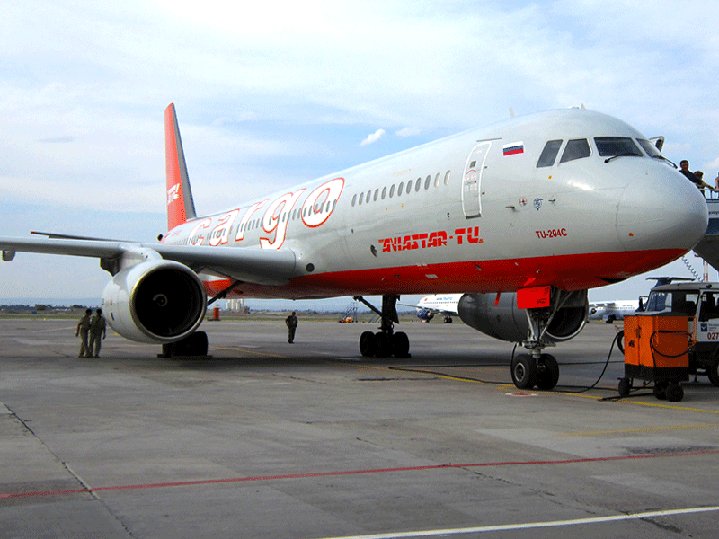 TU-204C for Cargo Charter