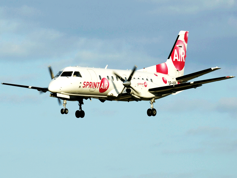 SAAB340 for Cargo Charter