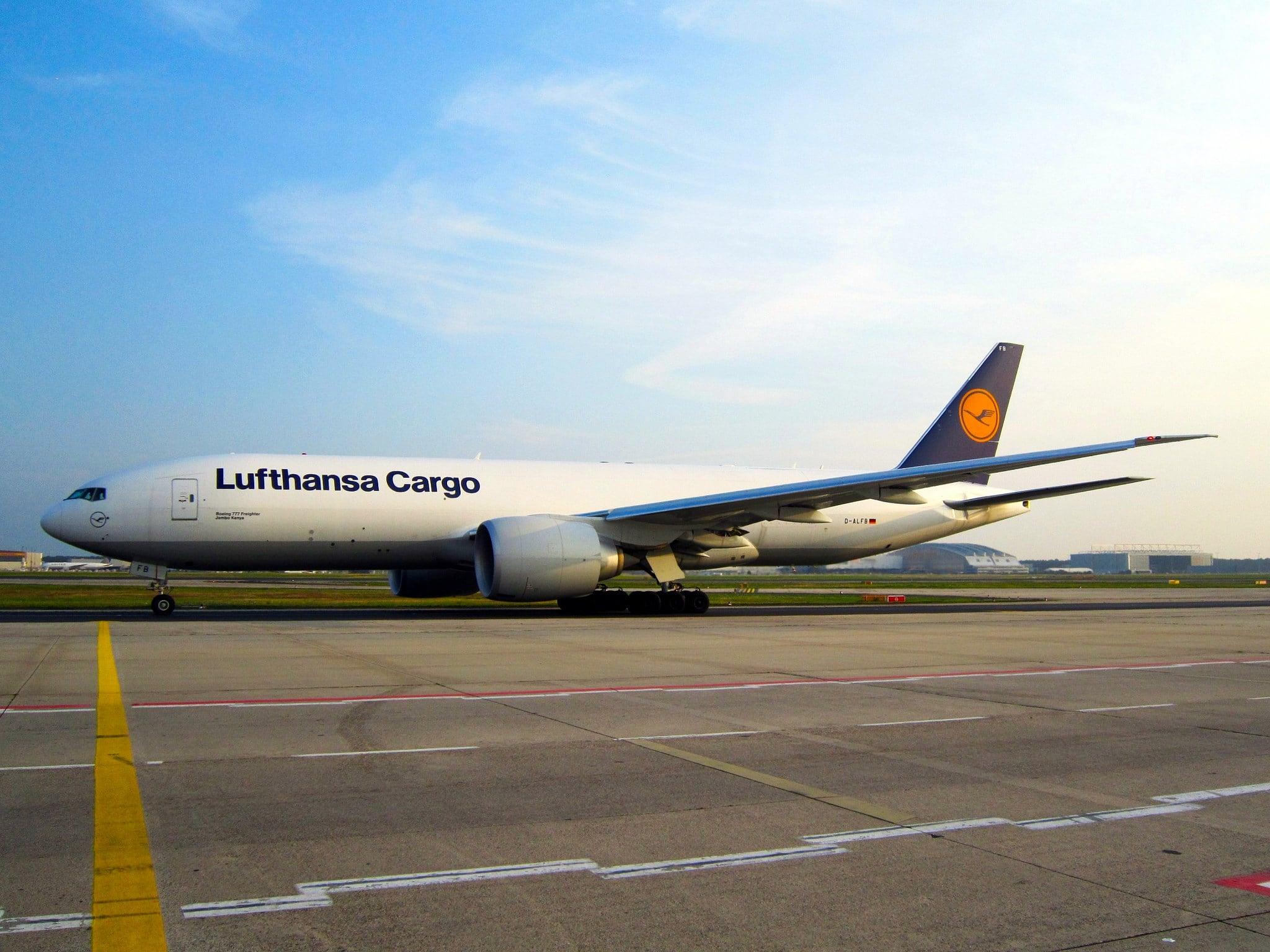 Lufthanser 777F