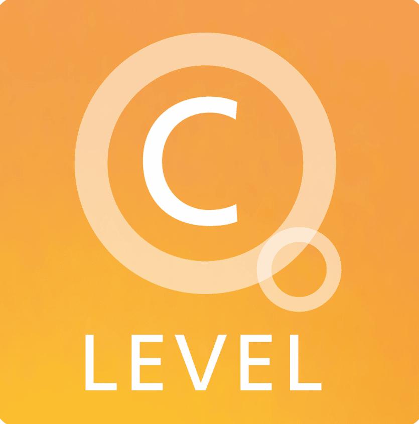 C-Level logo